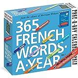 365 French Words-a-Year 2017 Calendar