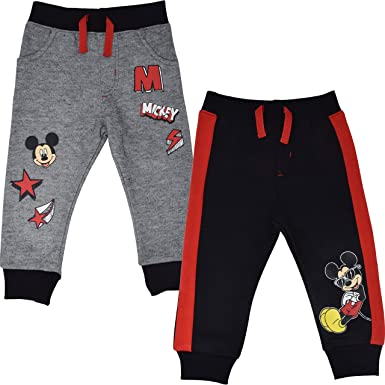 Disney Mickey Mouse Boys 2 Pack Pants