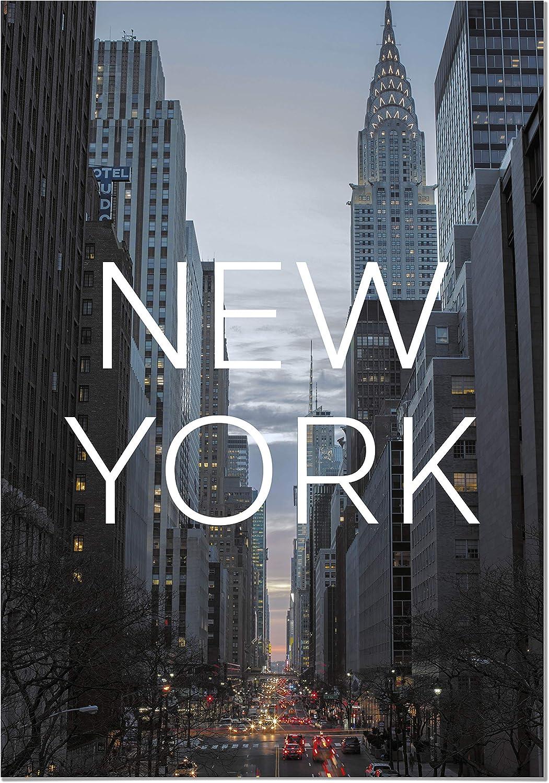 Decorazione Parete Quadri Moderni Soggiorno Stampe da Parete Moderne per Incorniciare Panorama Poster Stampe da Parete Citt/à di New York 21 x 30 cm Stampato su Carta 250 gr Alta qualit/à