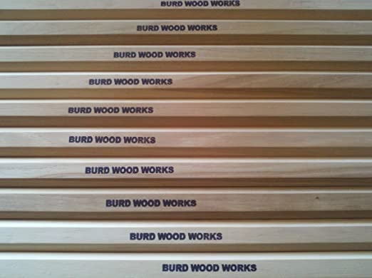 Burd Wood Works Hickory Lacrosse Attack Shaft - The Best Lacrosse Shaft on a budget