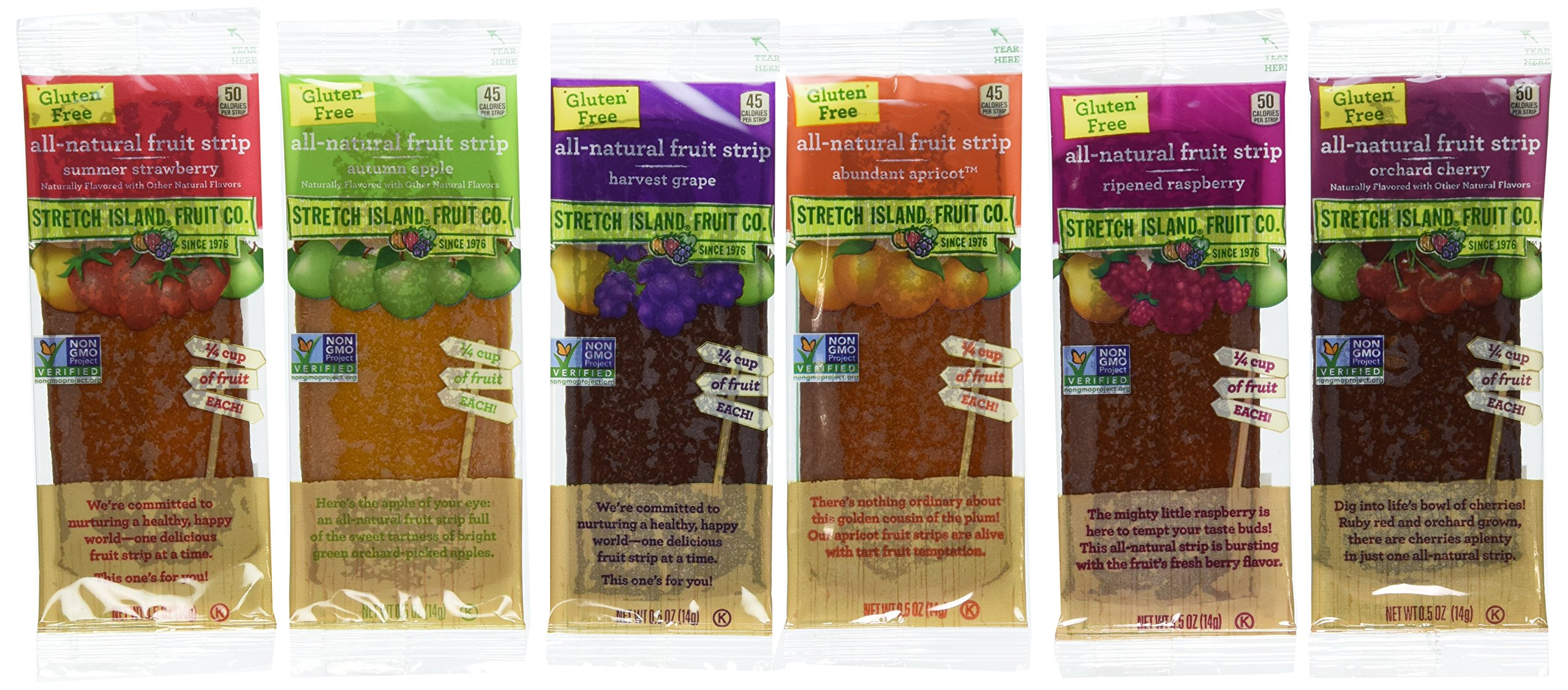 Stretch Island Fruit Leather Variety Pack 48-Count (Pack of 2, 96 total) by Stretch Island (Image #1)