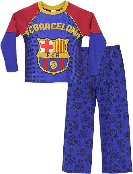 Barcelona F.C. - Pijama para Niños - Barcelona FC - 9 - 10 Años