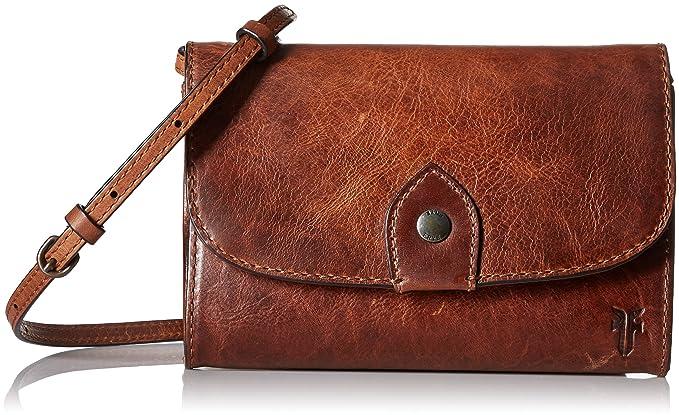 62bc34ae9 Amazon.com: Melissa Wallet Crossbody Clutch Leather Bag: Clothing