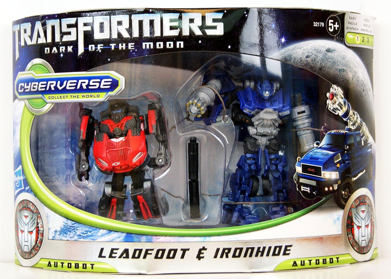 Transformers Dark Of The Moon Exclusive Legion Leadfoot Vs Commanders Ironhide