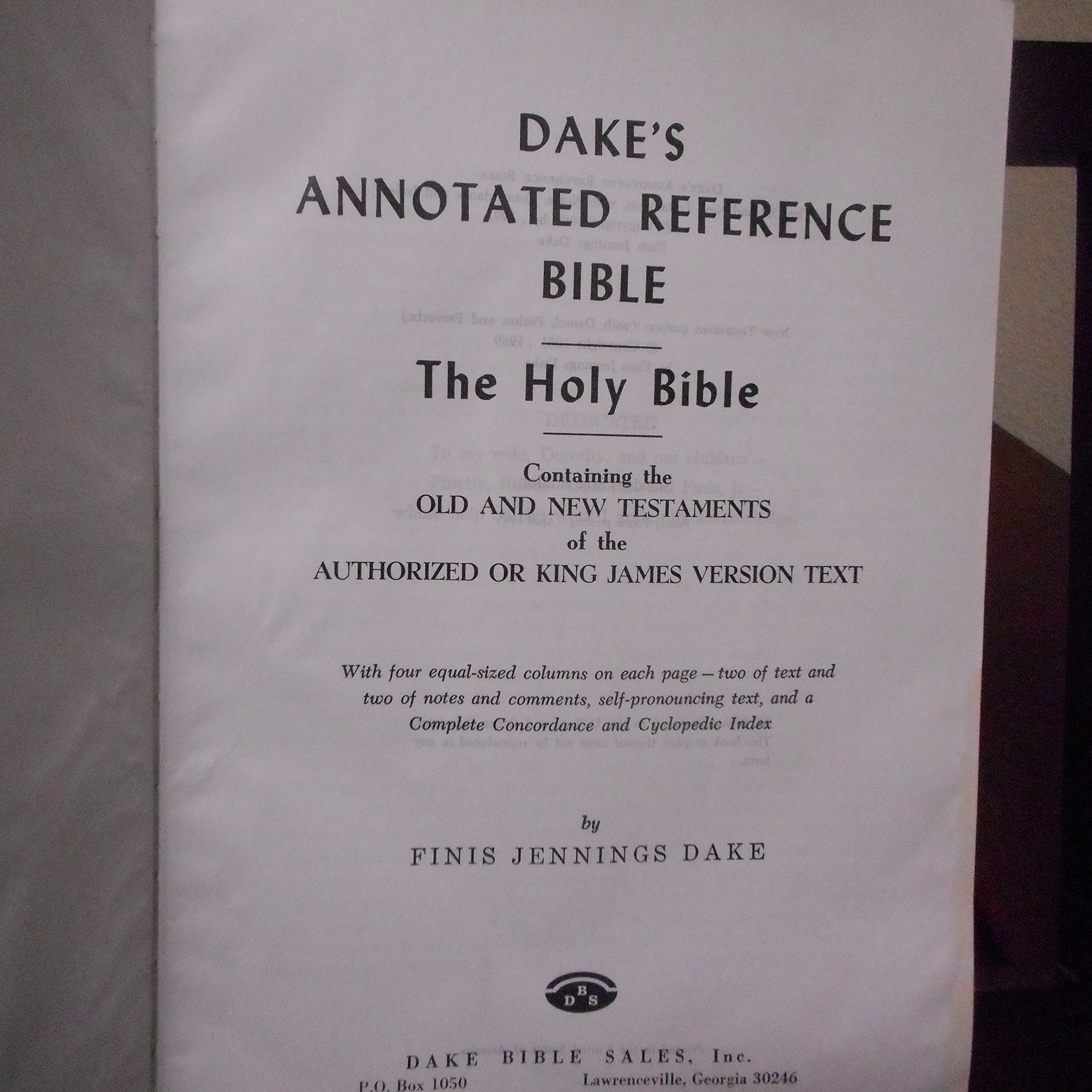 Dakes Annotated Reference Bible Free Download