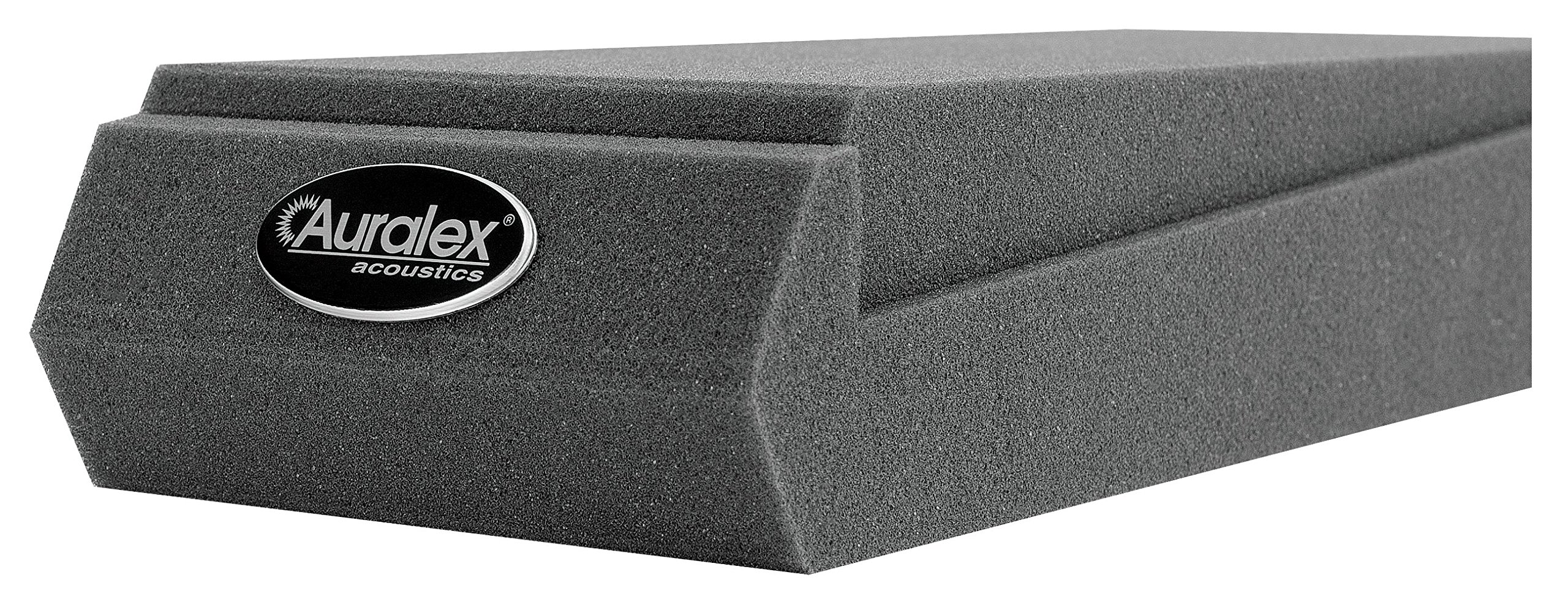 Auralex Acoustics MOPAD MOPAD Monitor Acoustic Isolation Pads (1 Pair), Charcoal by Auralex Acoustics