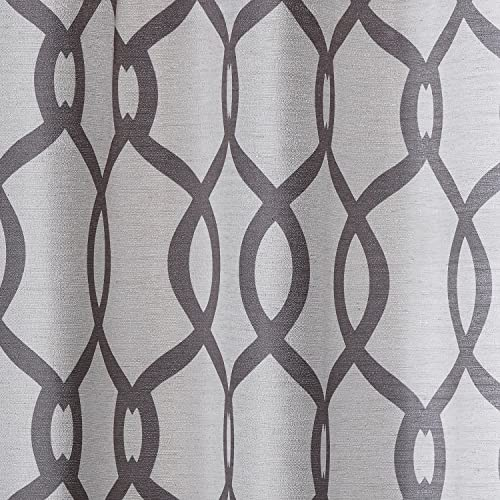 Exclusive Home Curtains Kochi Linen Blend Light Filtering Grommet Top Curtain Panel Pair