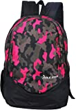 "POLE STAR ""RANGER"" 31 Ltrs Camo Pink Lite weight Casual Backpack I School Bag"