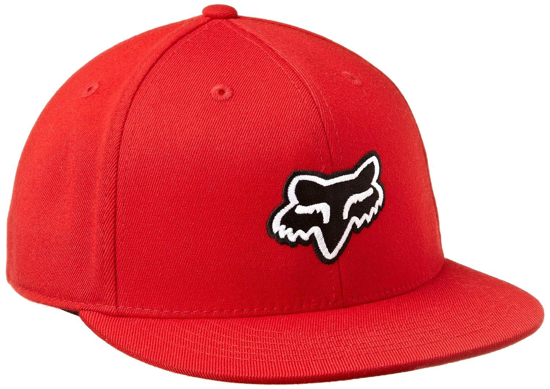 Flat Peak Flexfit Cap Fox The Steez Rojo (S/M, Rojo): Amazon.es ...