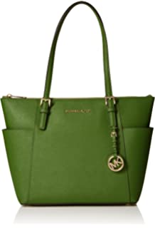 4c8a86c7d2f78c MICHAEL by Michael Kors Maddie Sunflower Leather Medium Tote one ...