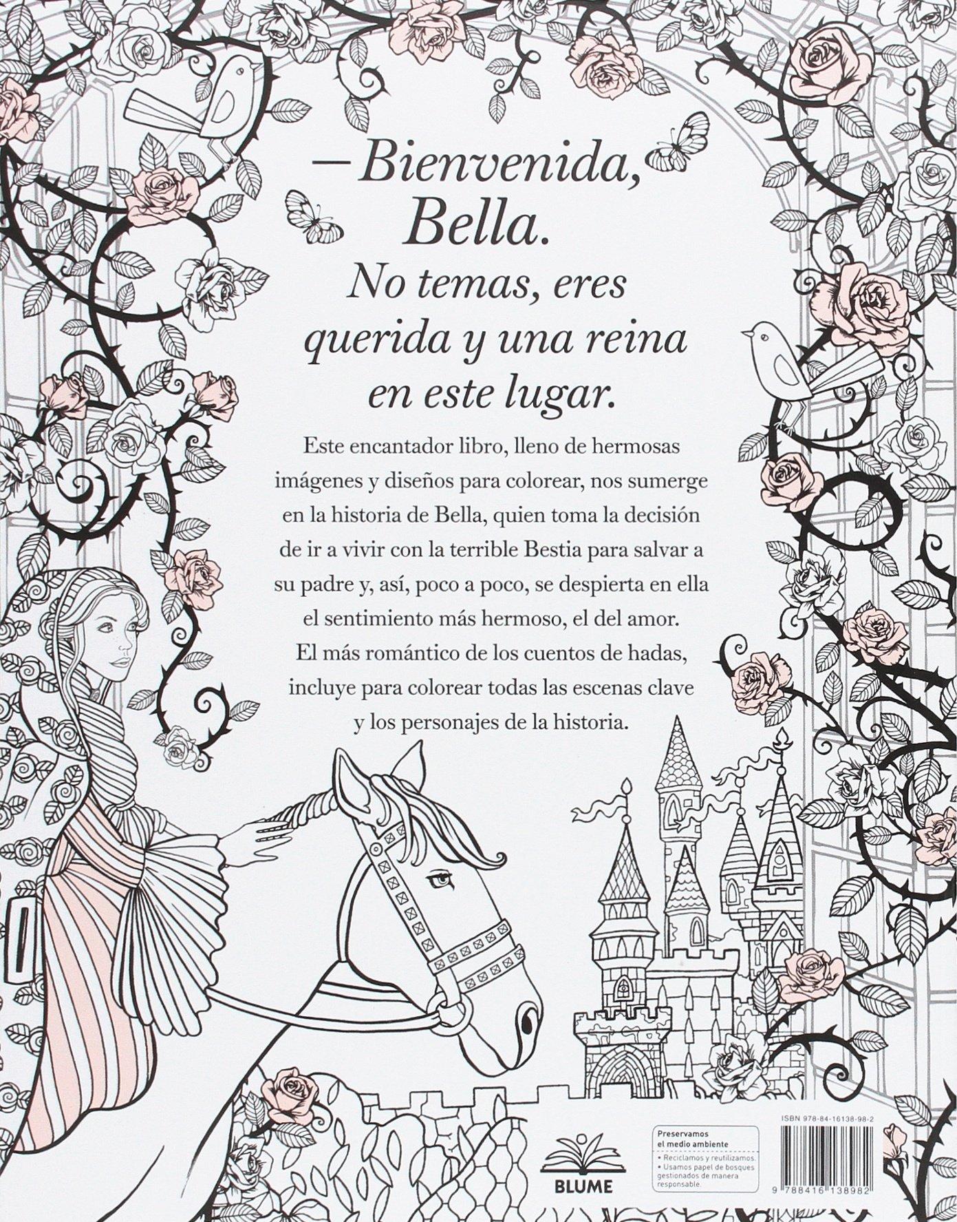 La bella y la bestia: Amazon.es: Barbot de Villeneuve Gabrielle ...