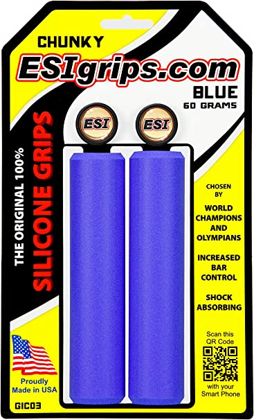 ESI Puños Chunky Color Azul: Amazon.es: Deportes y aire libre