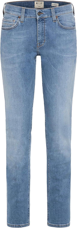MUSTANG Vegas Jeans voor heren blauw (medium middle 413).