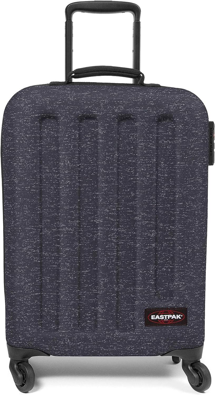Eastpak Tranzshell S Maleta, 54 cm, 32 L, Negro (Melange Print Dot)
