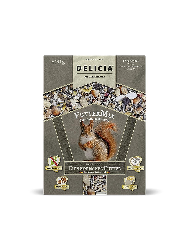 DELICIA EichhörnchenfutterMix 3 * 600g