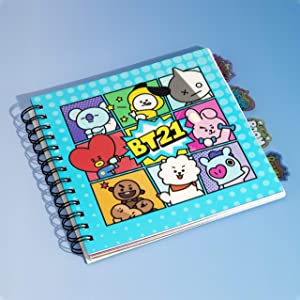 Cuadernos de BTS verde aqua