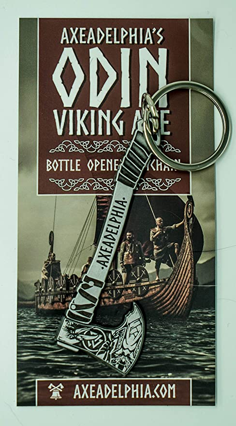 Amazon.com: Odin Viking Axe - Llavero abrebotellas: Kitchen ...