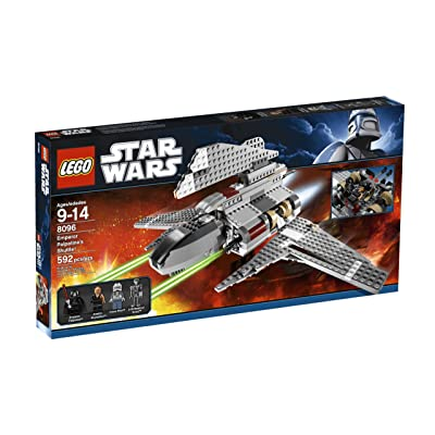 LEGO Star Wars Emperor Palpatine's Shuttle (8096): Toys & Games