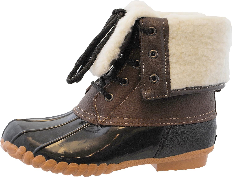 | sporto Womens Delmar Leather Duck Boot | Snow Boots