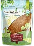 Organic Cocoa Powder by Food to Live (Natural, Non-Dutched, Non-GMO, Kosher, Unsweetened, Fair Trade, Bulk) — 8 Ounces