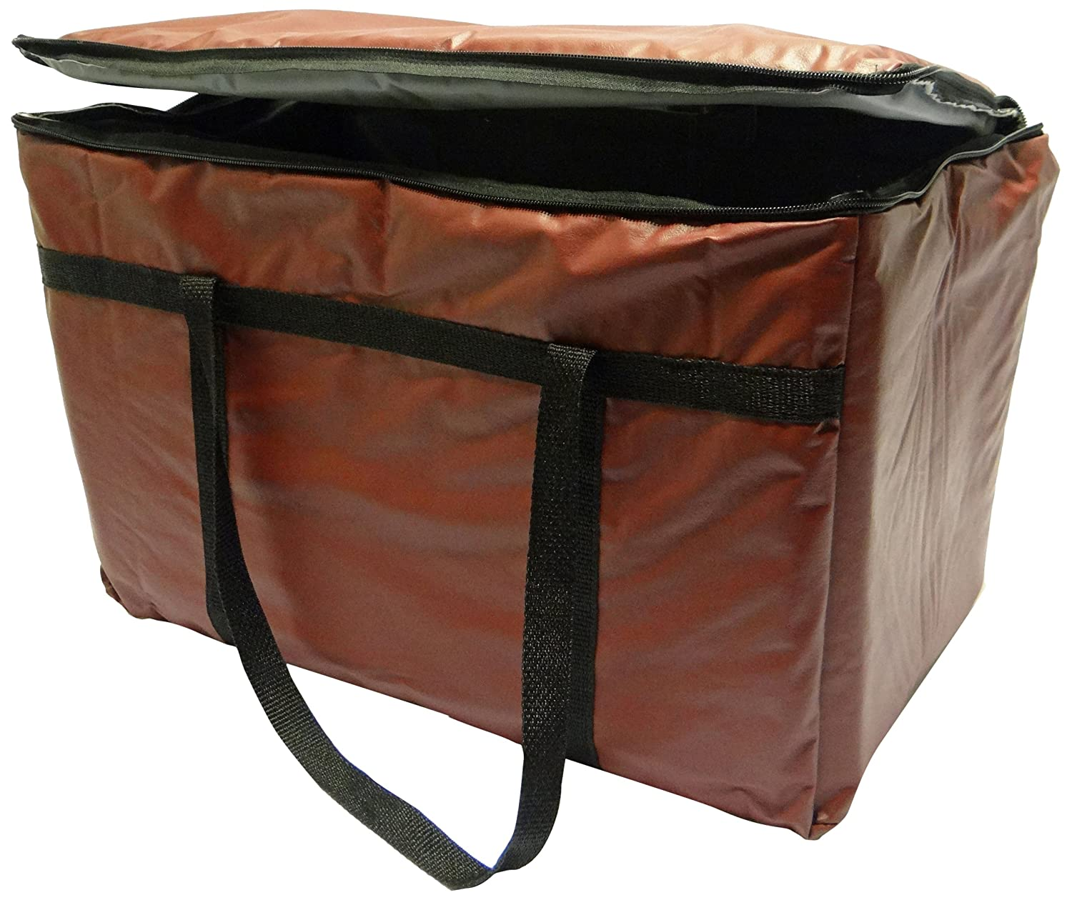 Phoenix 13-Inch by 22-Inch by 10-Inch Insulated Delivery Bags, Burgundy Phoenix Medical Press IDB-1322-BG