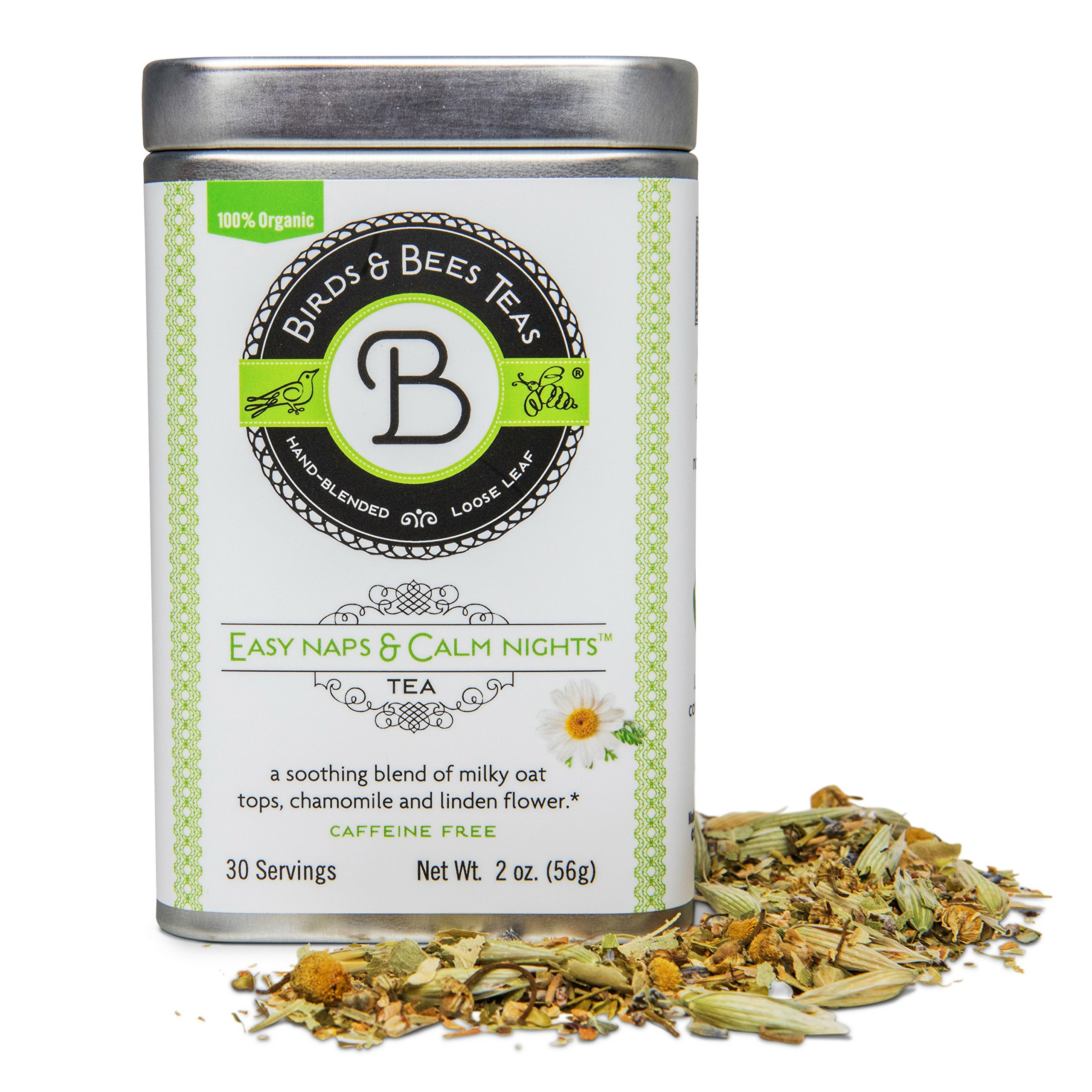 Natural Sleep Aid - Your Pregnancy Insomnia Solution! Easy Naps & Calm Nights - Birds & Bees Teas - Our Organic Sleep Tea has 30 Servings - Herbal Sleep Aid for Pregnant & Breastfeeding Moms, and Kids