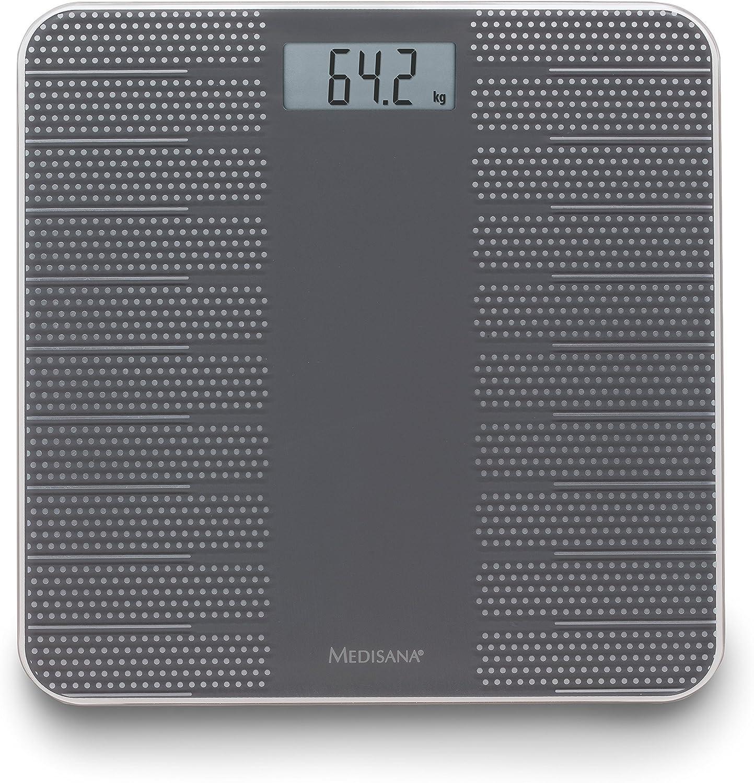 Medisana PS430 40458, Báscula Digital de Baño, con moderno diseno ...