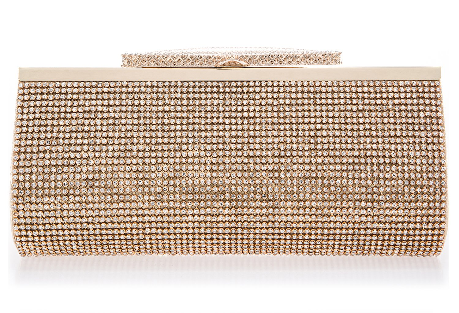 Crystal Clutch for Women Large Evening Bag