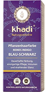 khadi poudre dindigo pur - Khadi Coloration