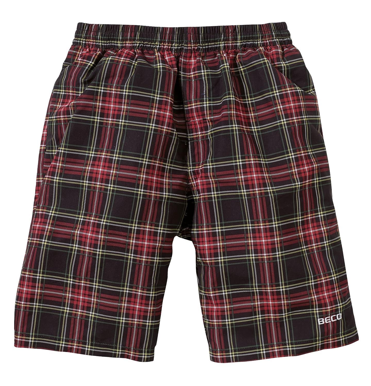 Beco–Pantalón Corto para Hombre, Hombre, Shorts, Cuadros, Extra-Small