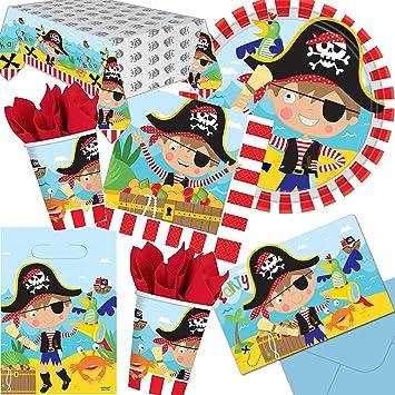 101 Juego de * Little Pirate * Cumpleaños para niños con 8 ...