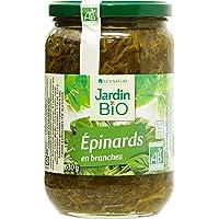 Jardin Bio Epinards en Branches 630 g - Lot de 3