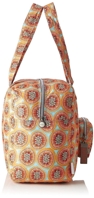 Enjoy Ornament Travelbag Shz, Womens Bag, Turquoise (Light Turquoise), 22x36x48 cm (B x H T) Oilily