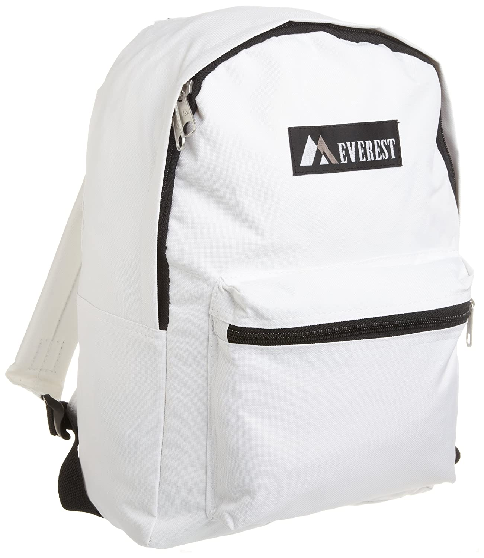 Medium Everest Luggage Basic Backpack Brown