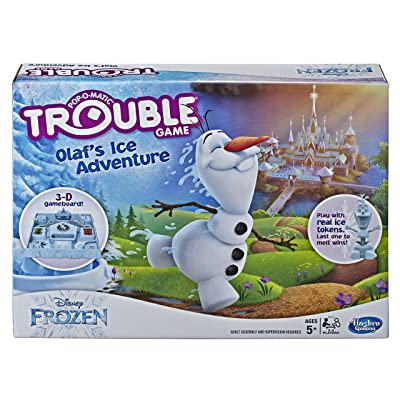 Trouble Game Olaf's Ice Adventure: Toys & Games