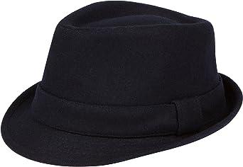 b67c7beb4526cd Sakkas Original Unisex Structured Wool Fedora Hat at Amazon Men's Clothing  store: