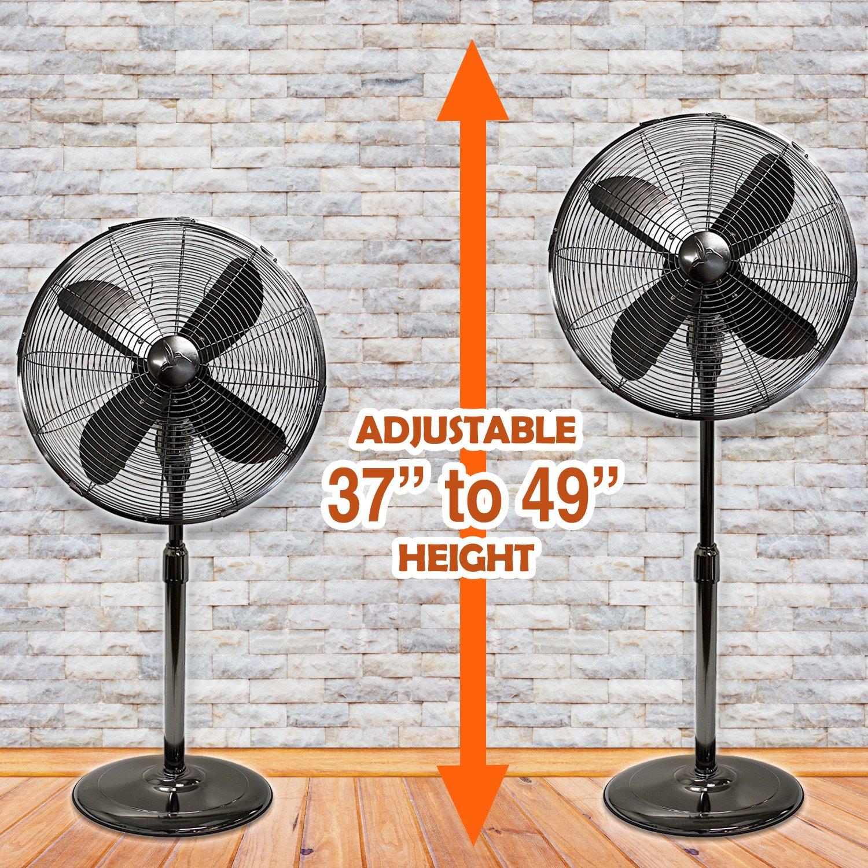 Oscillating Standing Floor Fan