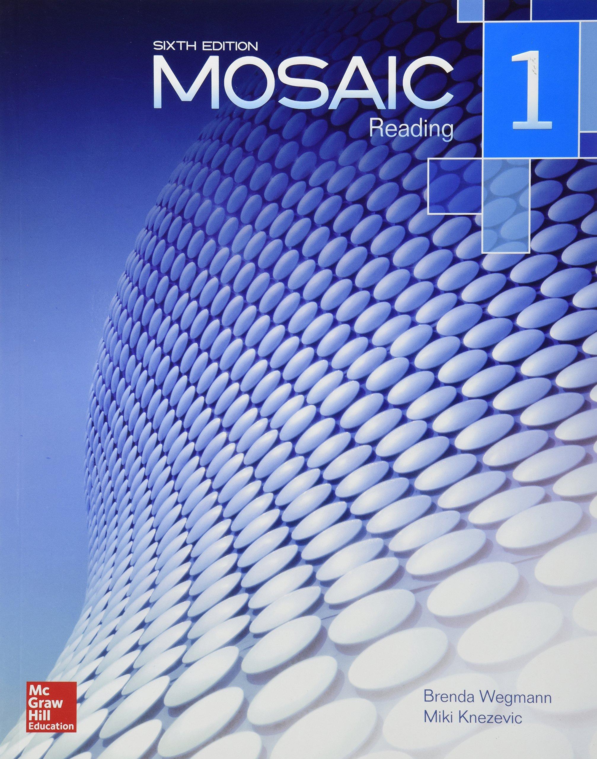 MOSAIC 1 READING CON CD pdf epub