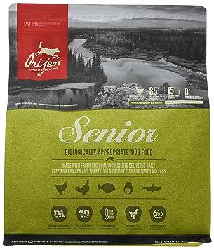 Orijen Senior Comida para Perro 2 KG 1 Saco: Amazon.es: Productos para mascotas