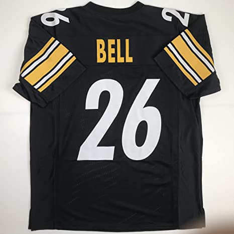 84e05fcc5 Image Unavailable. Image not available for. Color: Unsigned LeVeon Le'Veon  Bell Black Custom Stitched Football Jersey Size Men's XL New No