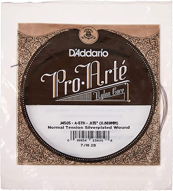 D'Addario J4505 Pro-Arte Nylon Classical Guitar Single String