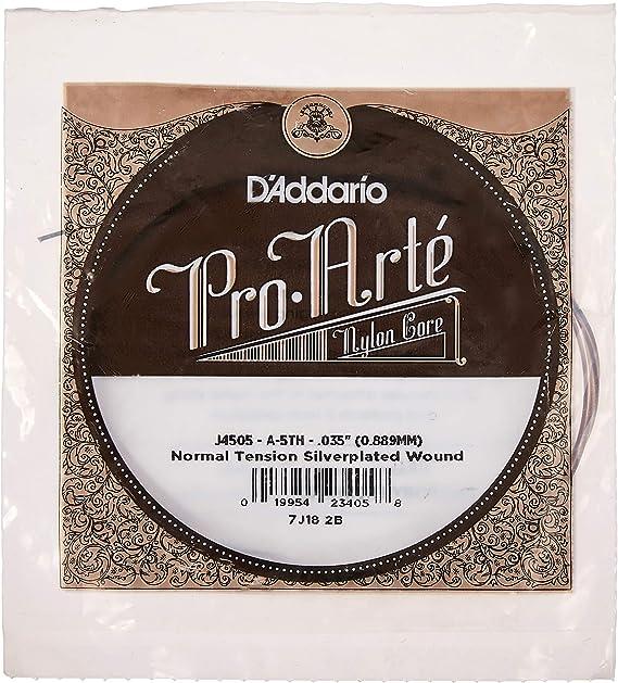 D'Addario J4505 Pro-Arte Nylon Classical Guitar Single String