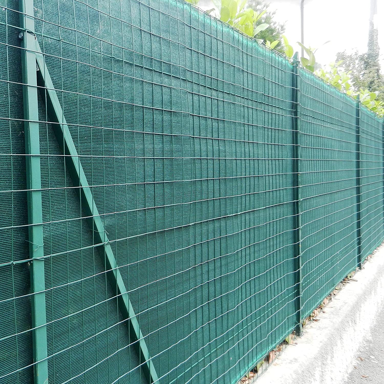 Tenax Rete Tessuta Ombreggiante Frangivista a Schermatura Totale Coimbra 1,80x50 m Verde
