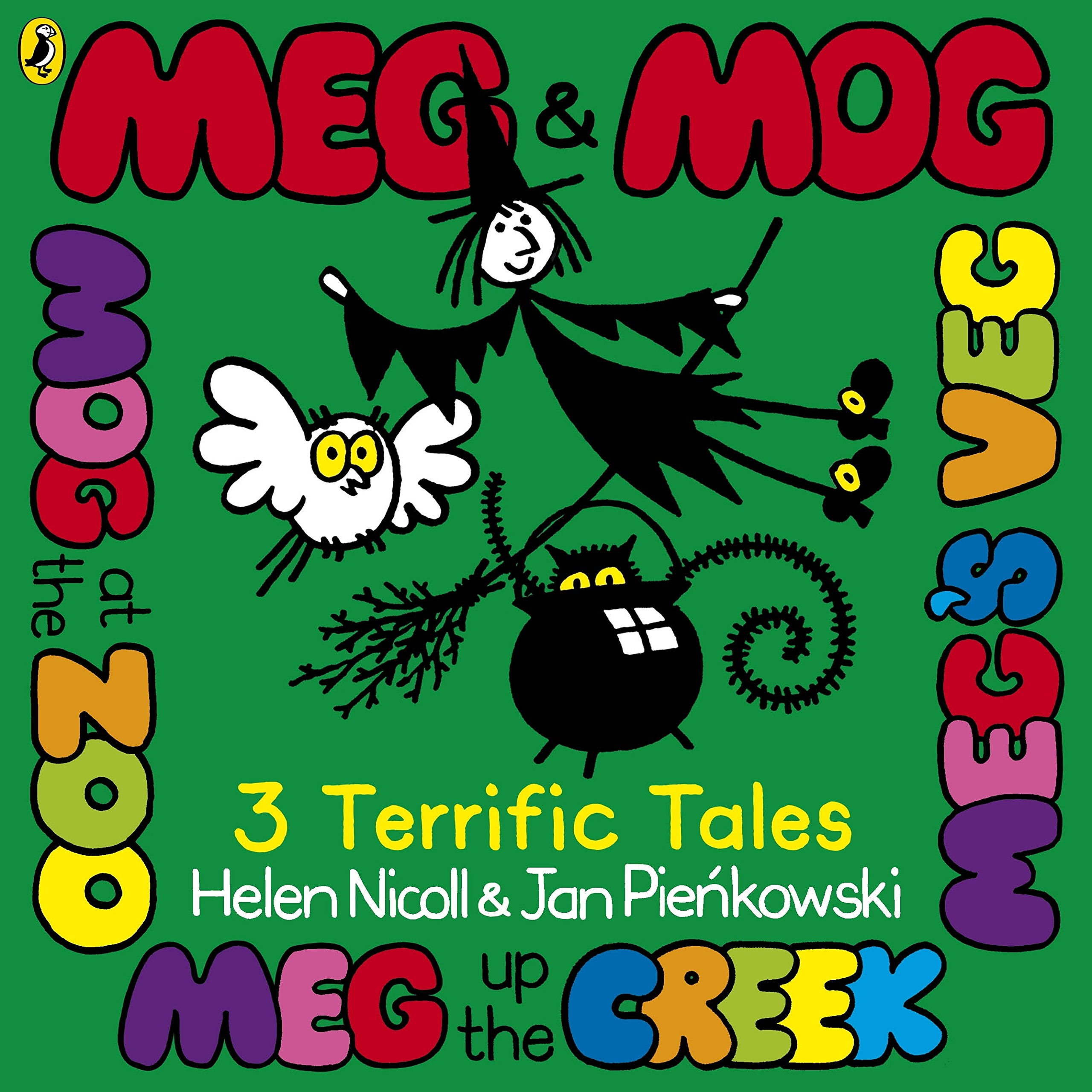 Meg and Mog Three Terrific Tales