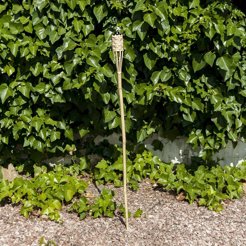Habita Home ANTORCHA para Jardines 120 CM 120 cm Color BAMB/Ú