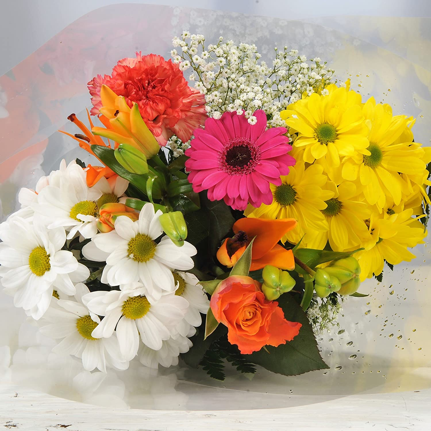 Homeland Florists Little Mix of Colourful Fresh Flowers