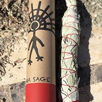 Native American White Sage Smudge Stick - 100% Native American Created and  Blessed - Cleanse d5e9e30a14