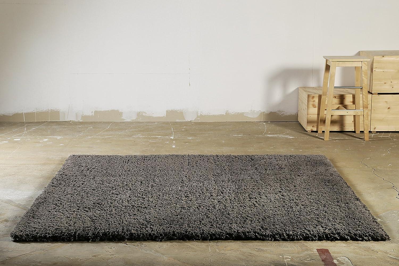 Homie Living I Hochflor Teppich I Parma I sehr flauschig und kuschelig I Beige, 80 x 150 cm