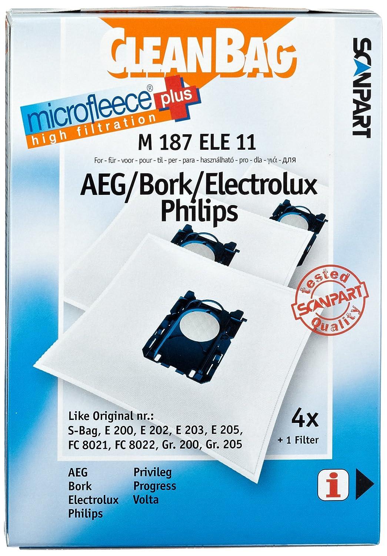 10 20 30 Staubsaugerbeutel passend für Philips FC 8600.. 8649 Expression