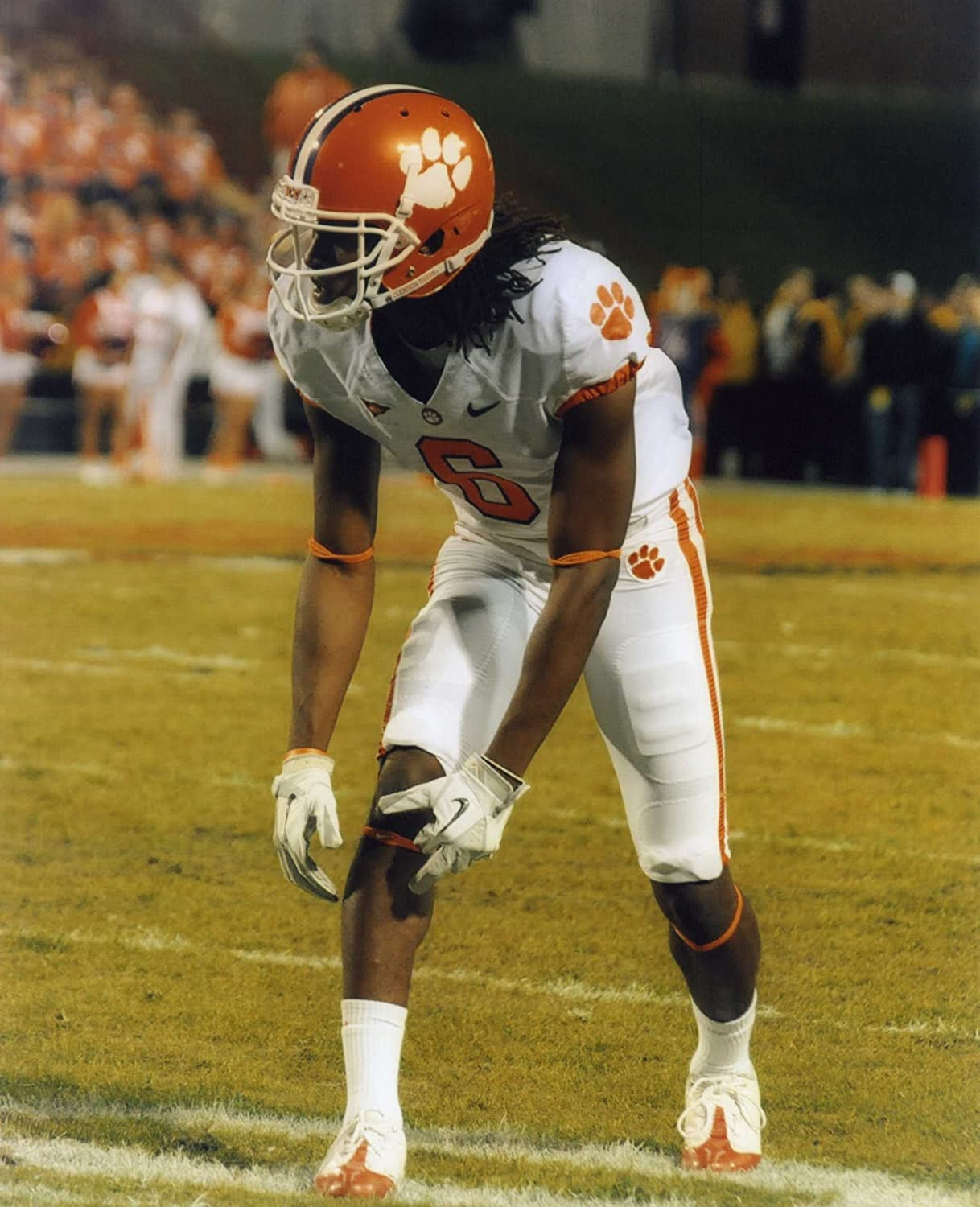 Brian Dawkins Clemson Tigers NCAA Action Photo Size: 8 x 10